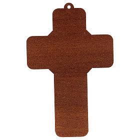 Cruz pvc Bautismo 13x8.5 cm s2