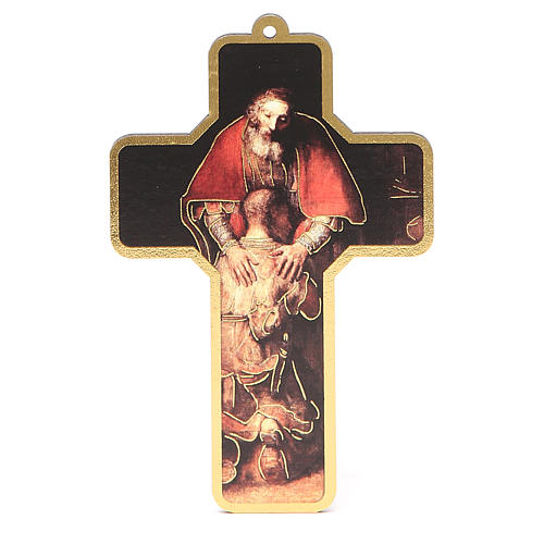 Cruz pvc Primera Confesión con tarjeta ITA 3