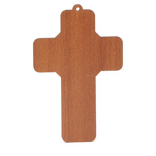 Croix pvc pénitence avec carte souvenir 4
