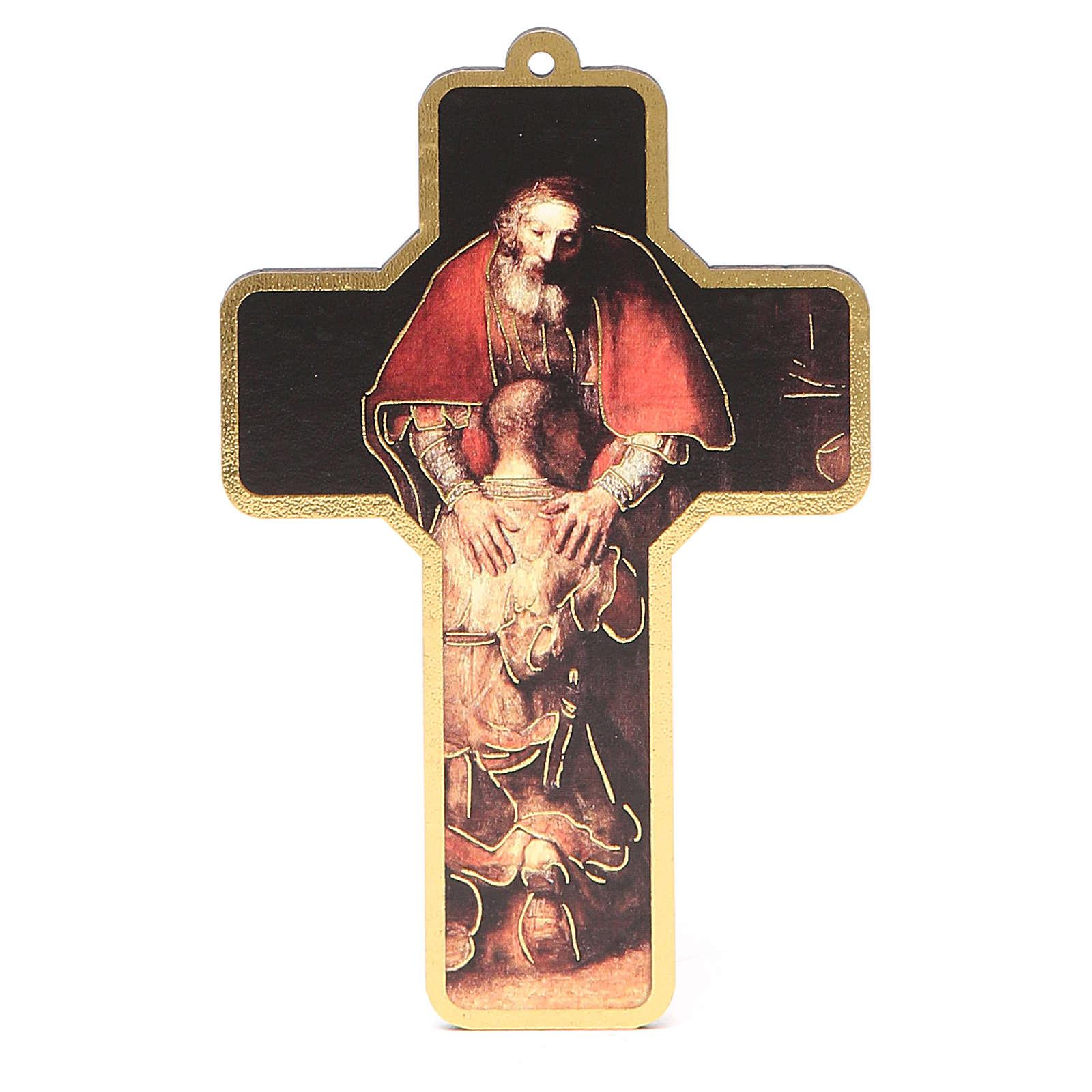 Croce pvc Penitenza con cartoncino 3