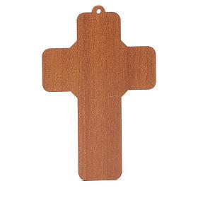 Croce pvc Penitenza con cartoncino s4