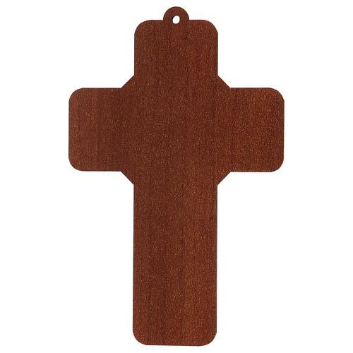 Croce pvc Prima Comunione 13x8,5 cm 2