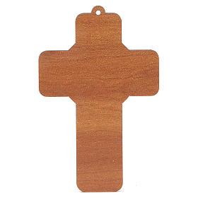 Krzyż pvc Pierwsza Komunia z kartką  pamiątkową s4