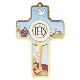Cross pvc First Communion 13x8,5cm s3