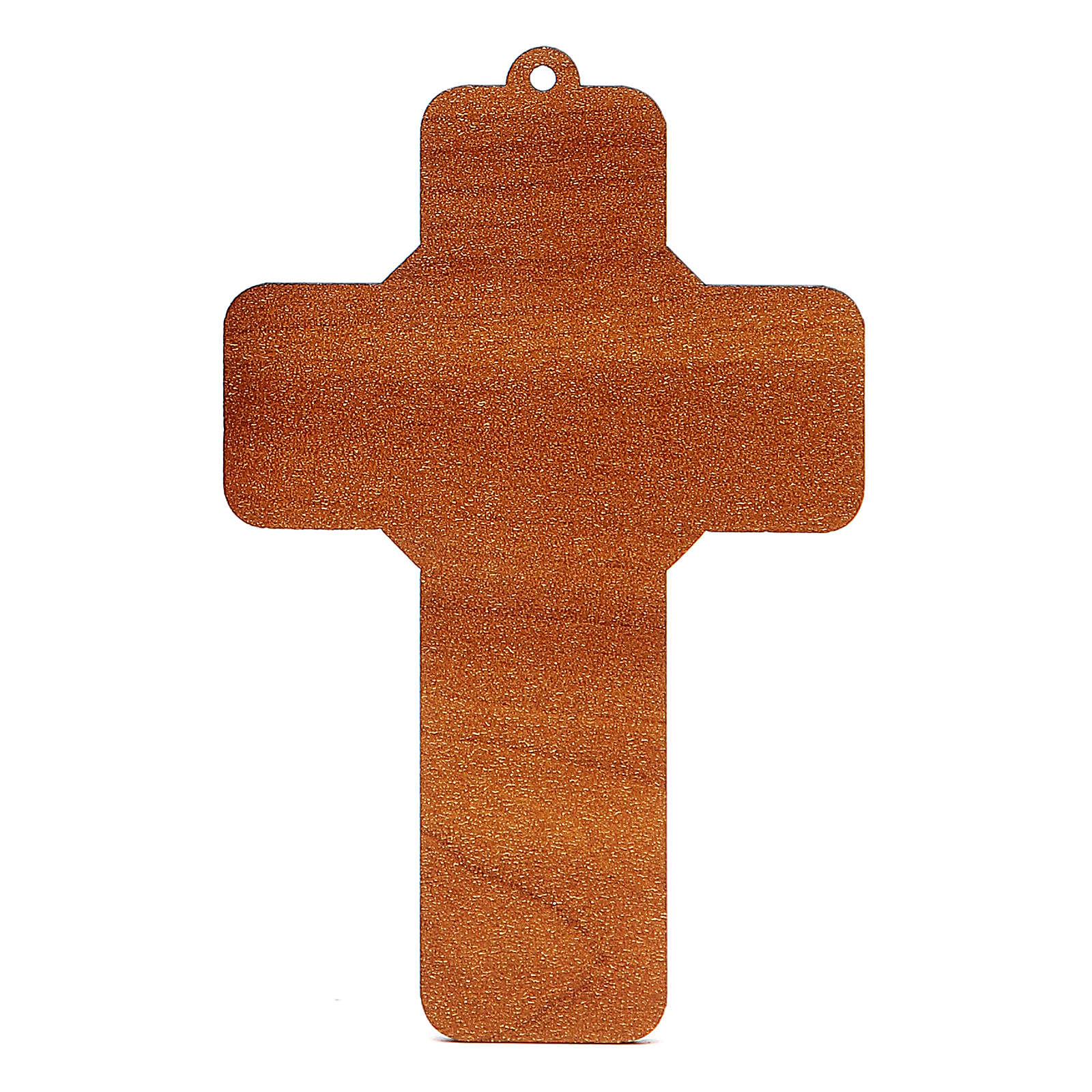 Croix pvc Confirmation 13x8,5 cm 3