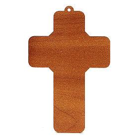Croix pvc Confirmation 13x8,5 cm s2