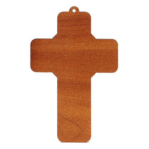 Croix pvc Confirmation 13x8,5 cm 2