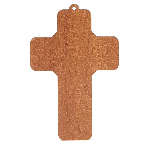 Cross pvc Confirmation 13x8,5cm 4