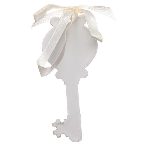 Bonbonnière Mariage clé Sainte Famille 4x9 cm 2