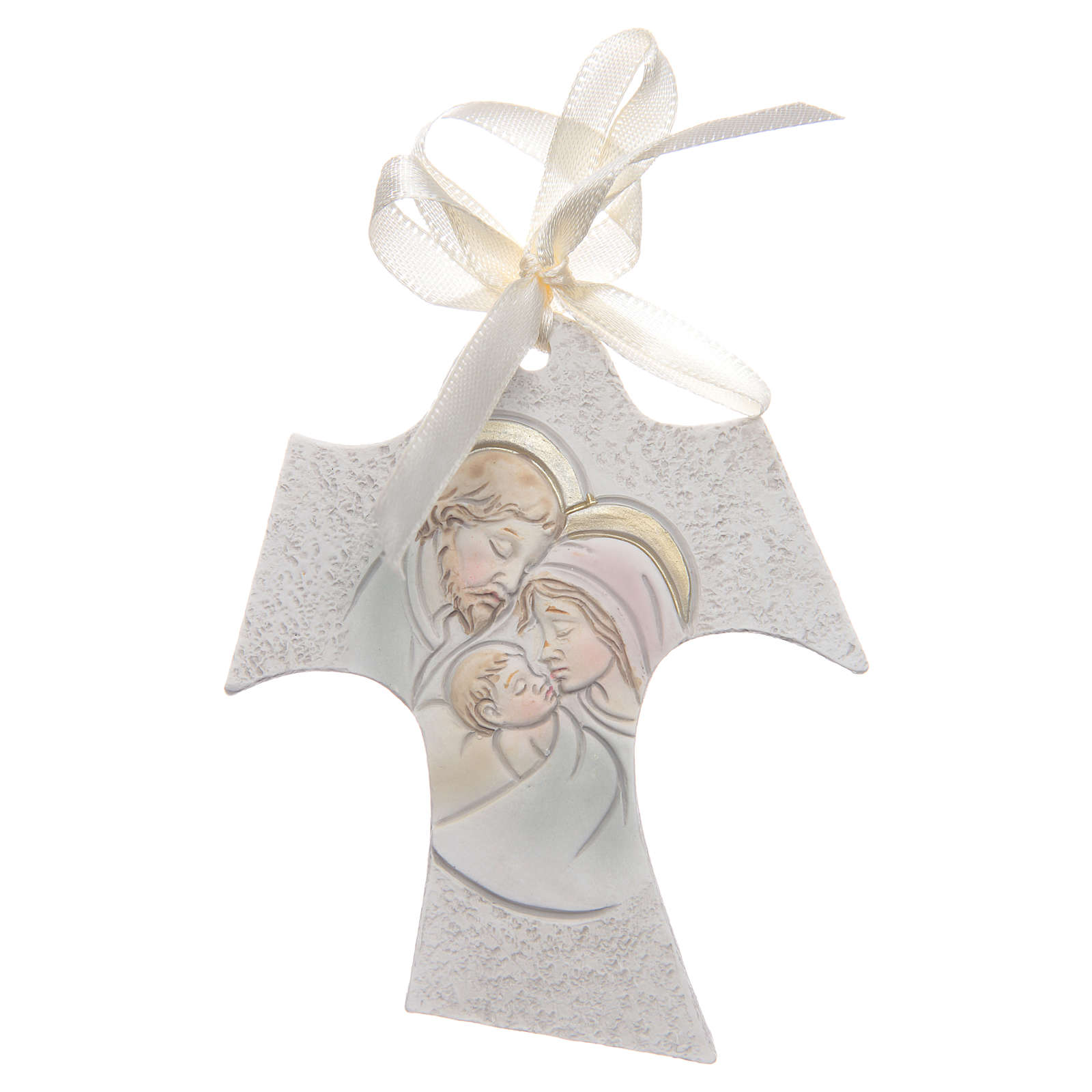 Bombonniere for wedding Tau Holy Family 7x8 cm 3