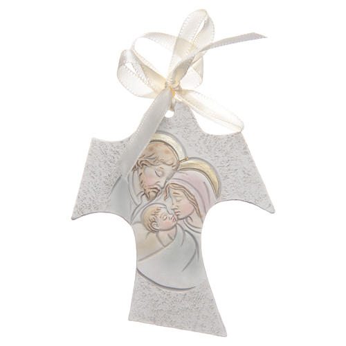 Bombonniere for wedding Tau Holy Family 7x8 cm 1