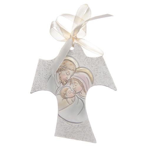 Bomboniera Matrimonio Tau Sacra Famiglia 7x8 cm 1