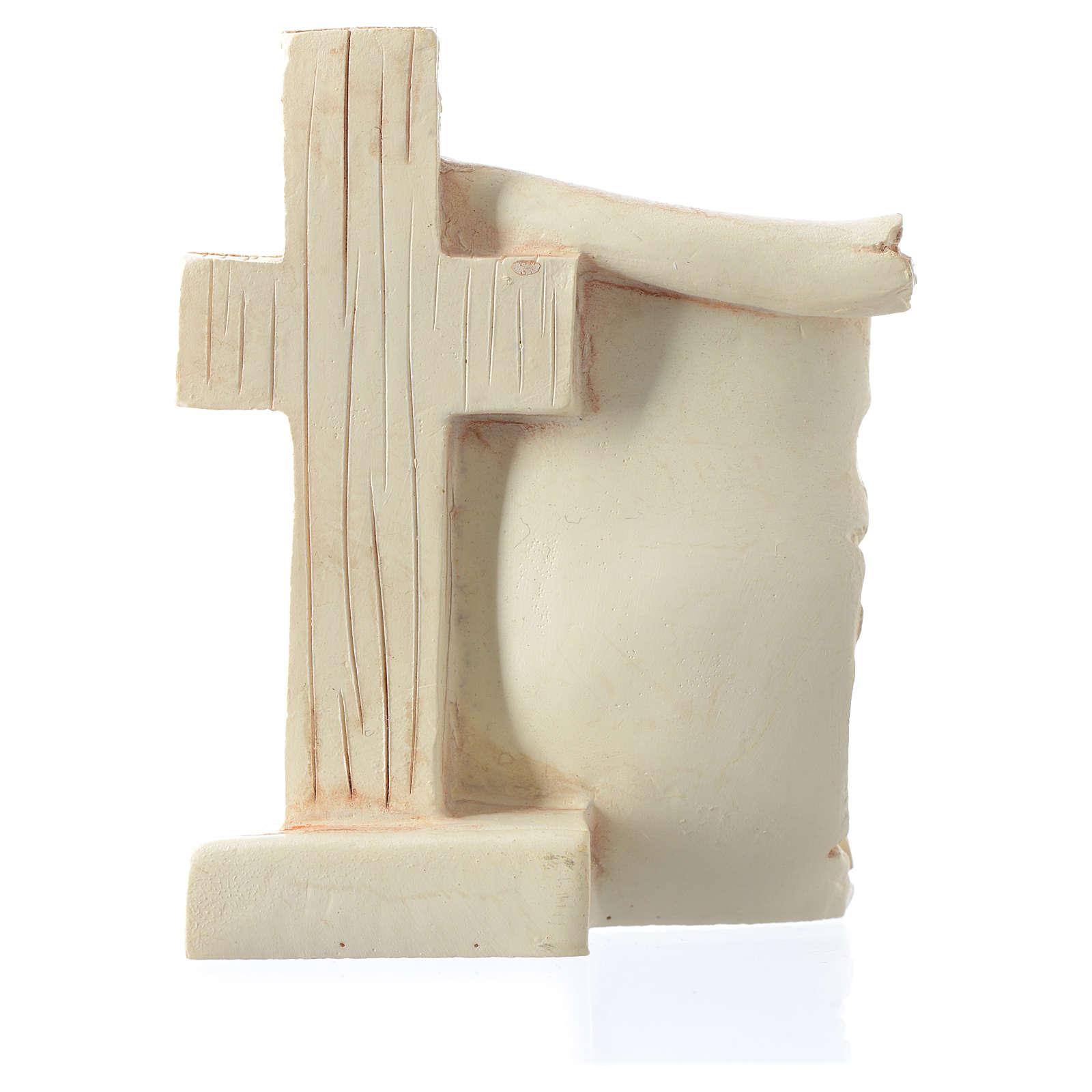 Bomboniera Matrimonio pergamena S. Famiglia 6x8 cm 3