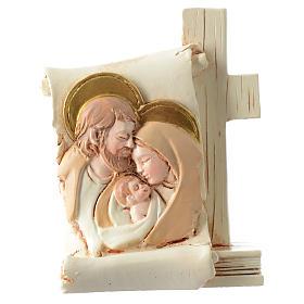 Bomboniera Matrimonio pergamena S. Famiglia 6x8 cm s1