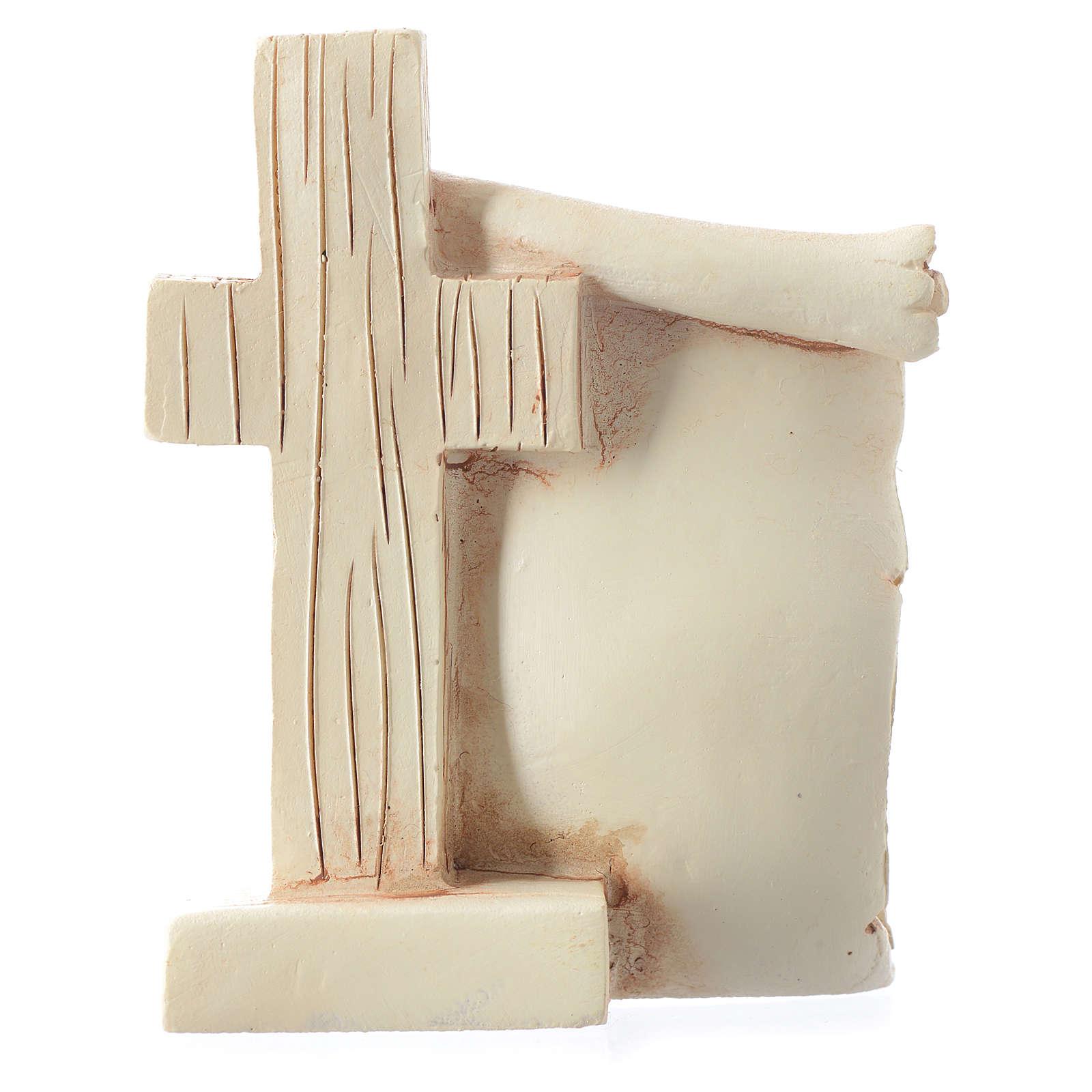 Pamiątka Komunii Pergamin Kielich 6x8 cm 3