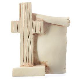 Pamiątka Komunii Pergamin Kielich 6x8 cm s2
