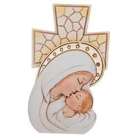 Bomboniera Battesimo e Nascita Croce Maternità 12x7 cm s1
