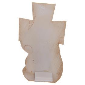 Bomboniera Battesimo e Nascita Croce Maternità 12x7 cm s2
