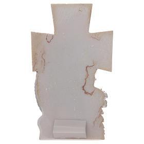 Ricordino Comunione Croce Calice 12x7 cm s2