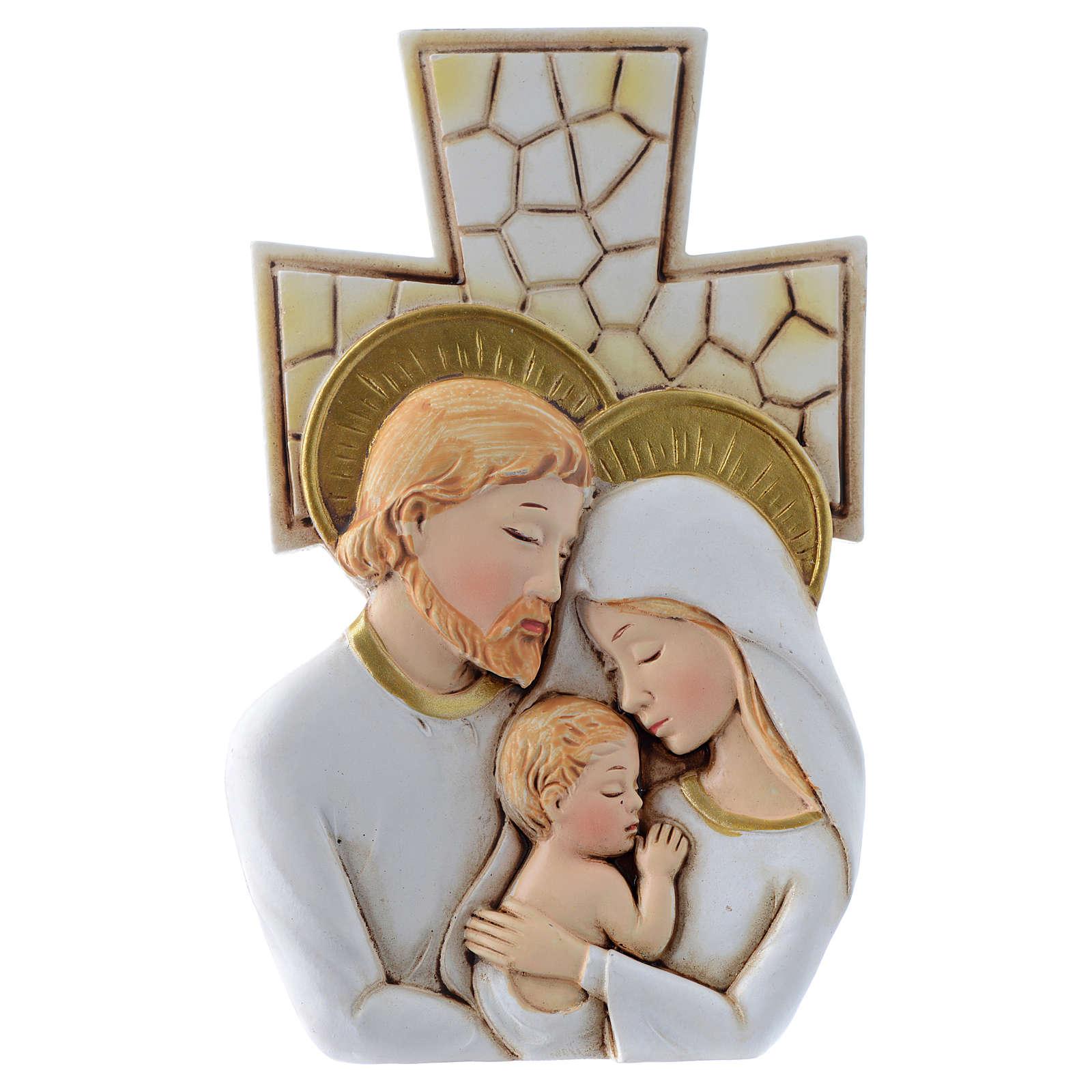 Bomboniera Matrimonio Croce S. Famiglia 12x7 cm 3