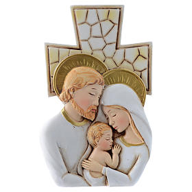 Bomboniera Matrimonio Croce S. Famiglia 12x7 cm s1