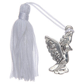 Confirmation memory dove with tassel s1
