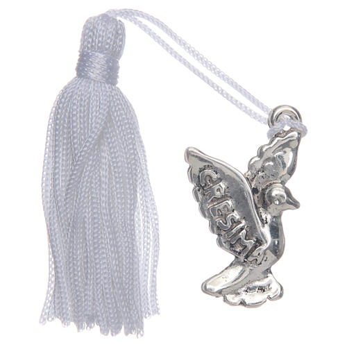 Confirmation memory dove with tassel 1