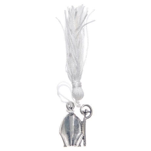 Confirmation memory Mitre with tassel 2