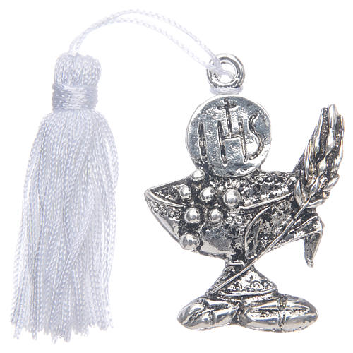 First Communion memory chalice with tassel 1