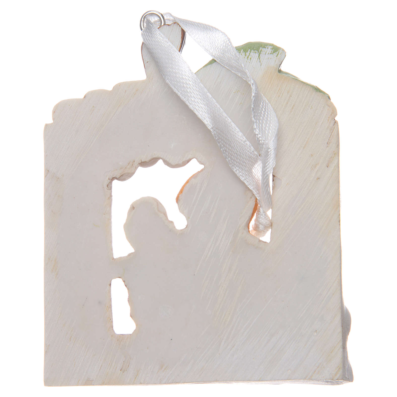 First communion bombonniere painting for boy in resin 3