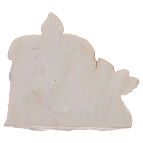 First communion bombonniere angel candle for boy 2