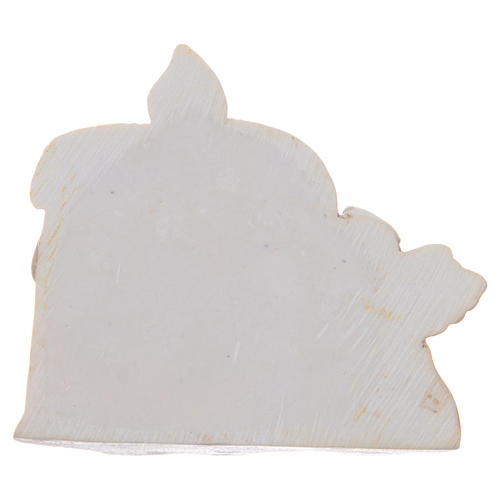 Bomboniera Cresima candela angelo resina 2