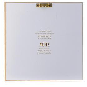 Idée cadeau cadre Joie Familiale de Verther 16x16 cm argent s3
