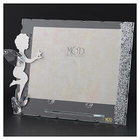 Fotorahmen Engel mit Stern aus Kristall und Edelstahl, 15x20 cm s3