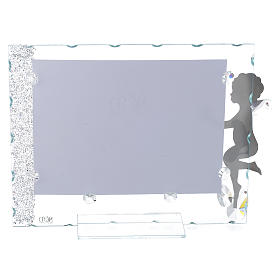 Angel photo frame with star and crystals 15x20 cm s2