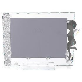 Porte-photo Ange coeur 15x20 cm cristaux s2