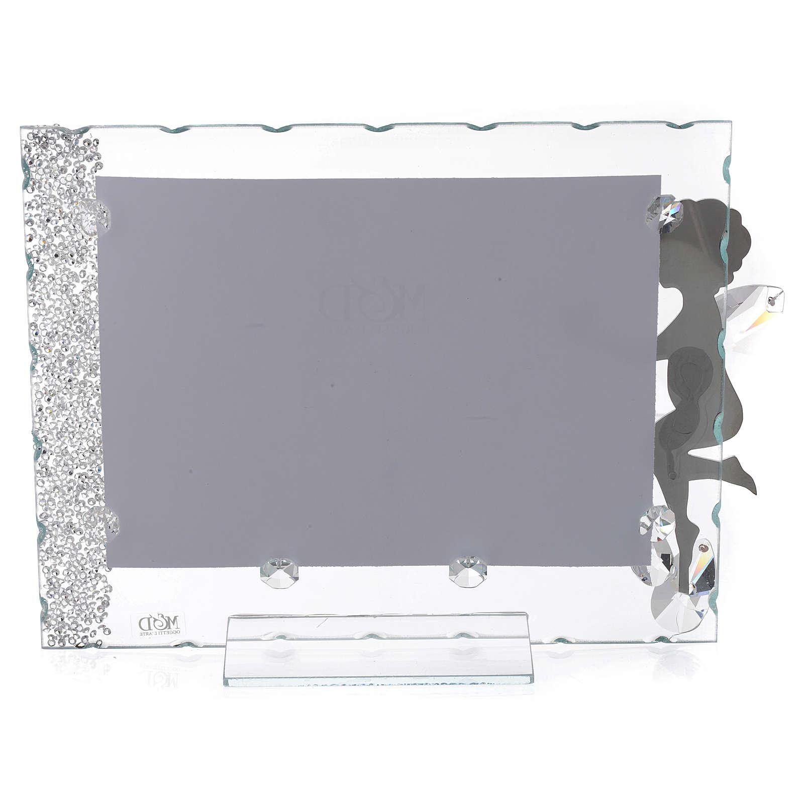 Idea Regalo Portafoto Angelo cuore 15x20 cm 3