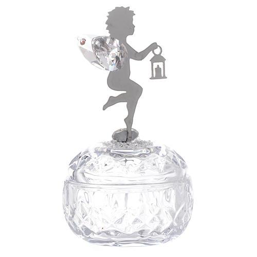 Bomboniera Scrigno angelo con lanterna 1