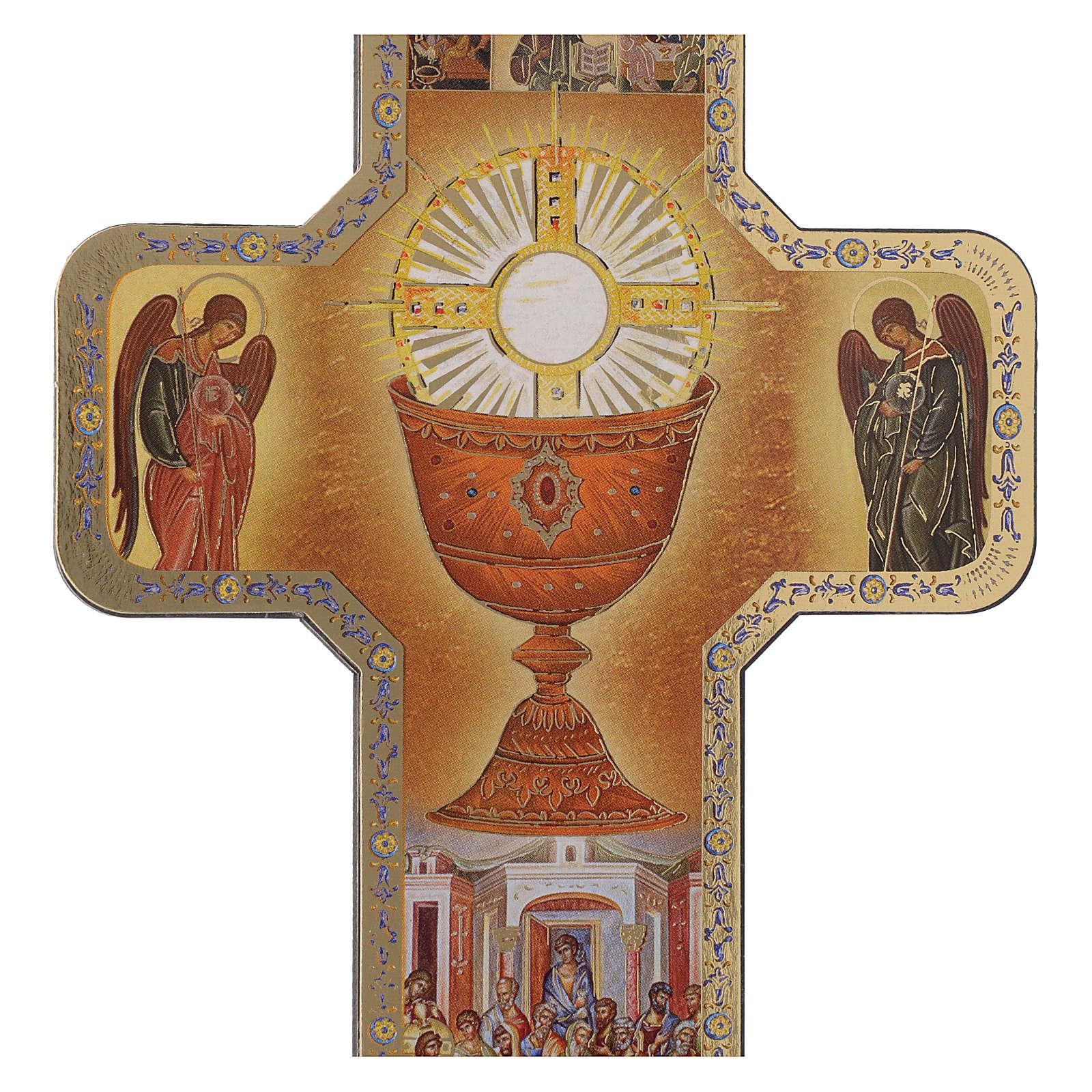 Croix icône Première Communion 12x18 cm 3