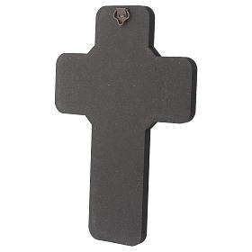 Cruz ícone Primeira Comunhão 10x15 cm s3