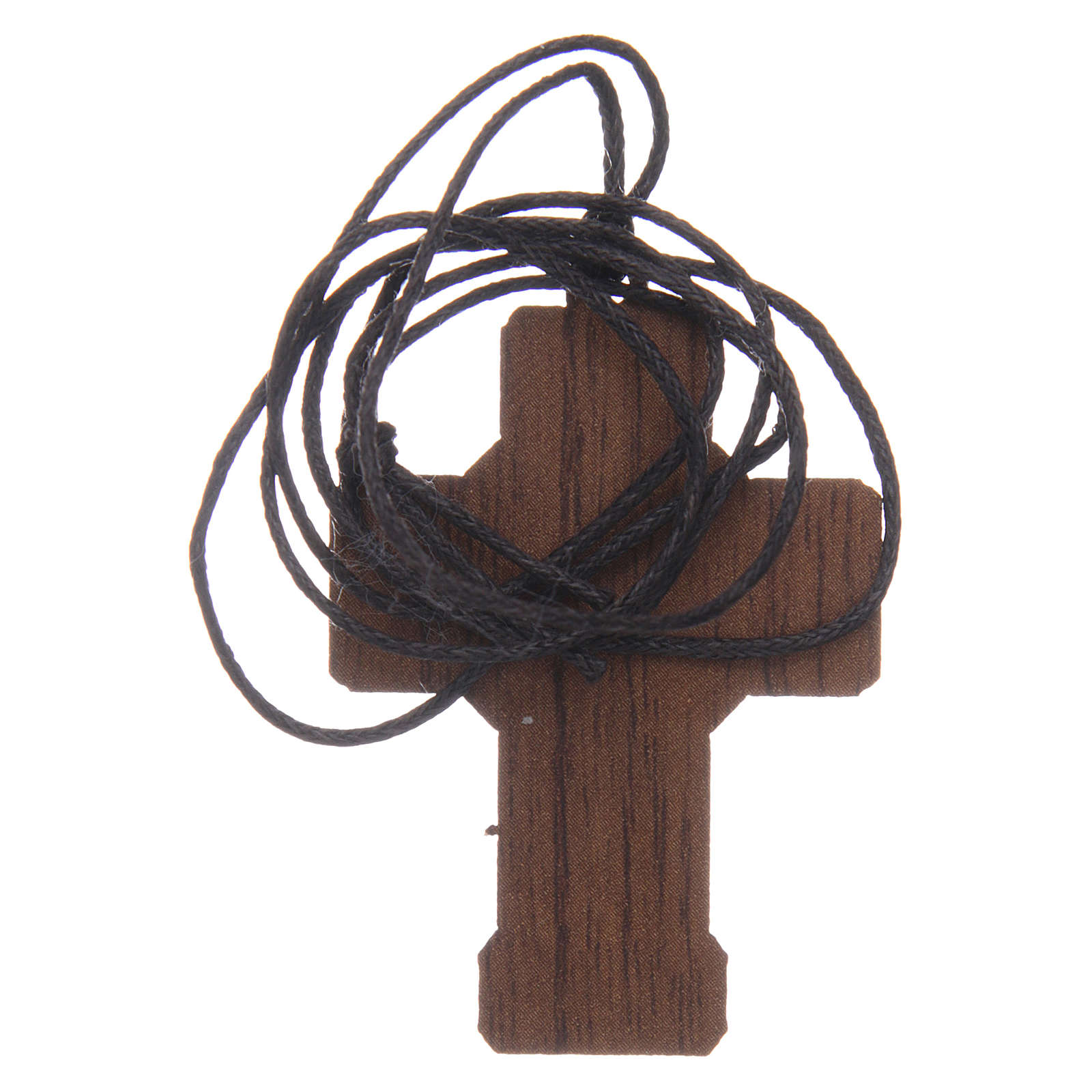 Cruz de madera Primera Comunión cuerda y caja 3