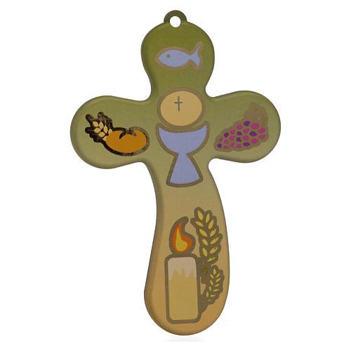 Certificat Communion avec croix bois 1