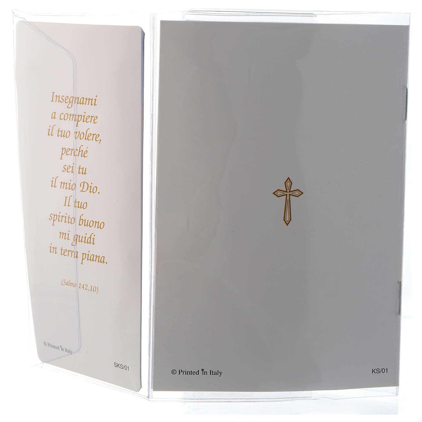 Souvenir Communion livret ITA et chapelet 3