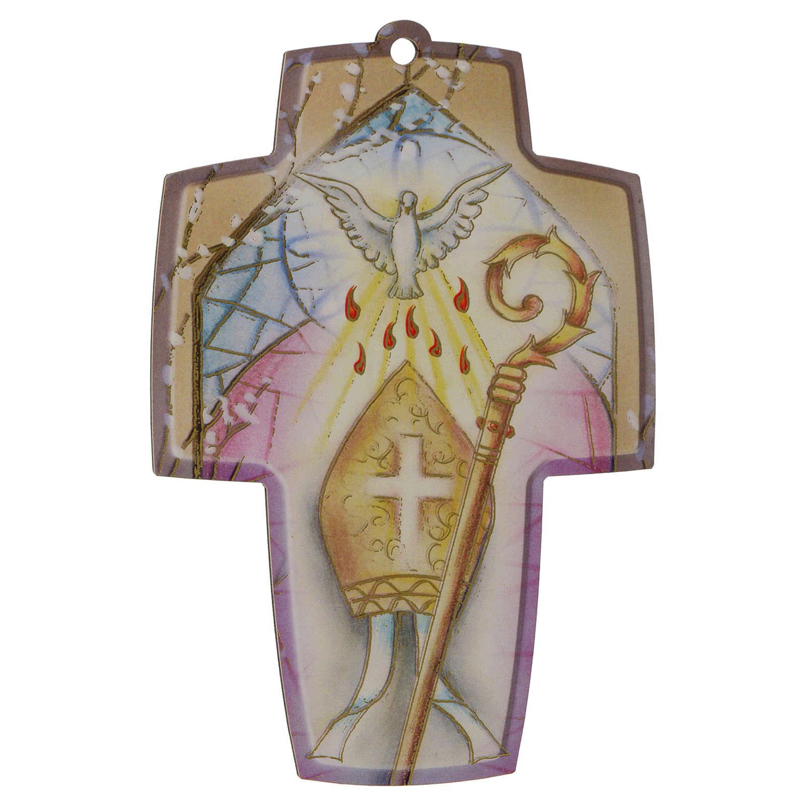 Diploma di Cresima con Croce in legno 3