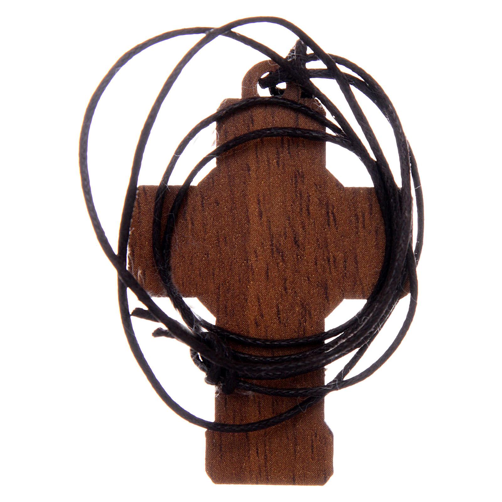 Cruz de madera con cuerda 3x5 cm 3