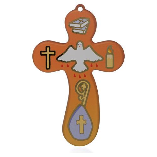 Souvenir de la Confirmation croix et certificat 1