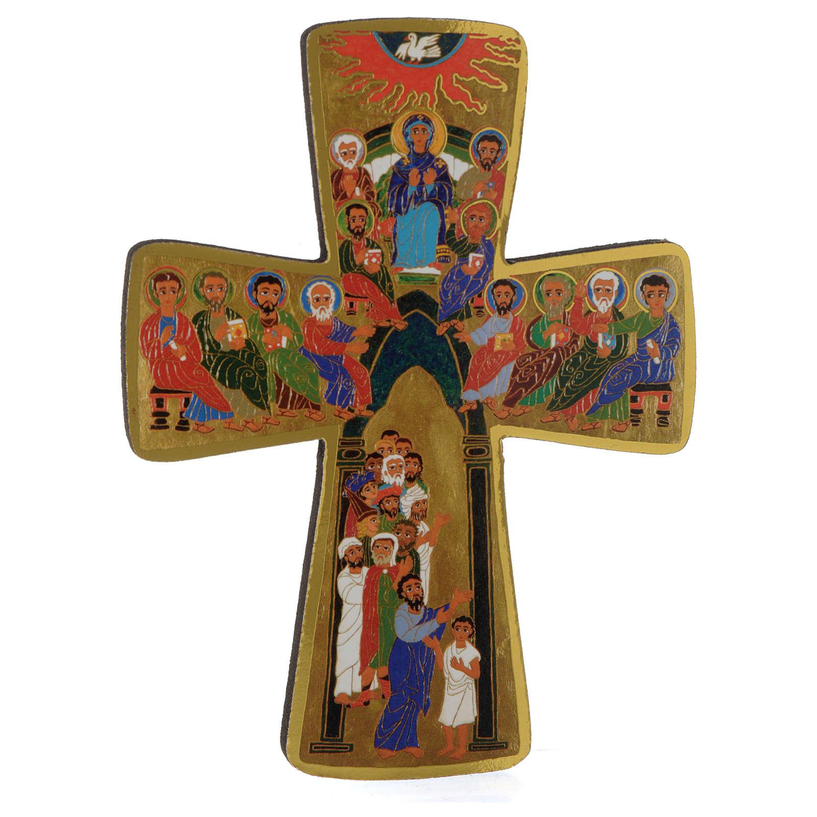 Croce Pentecoste 15x10 cm 3