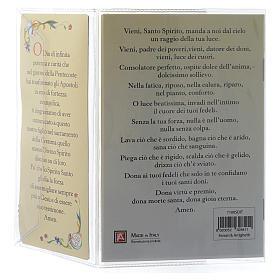 Libretto Ricordo Cresima Italiano e pendente s4