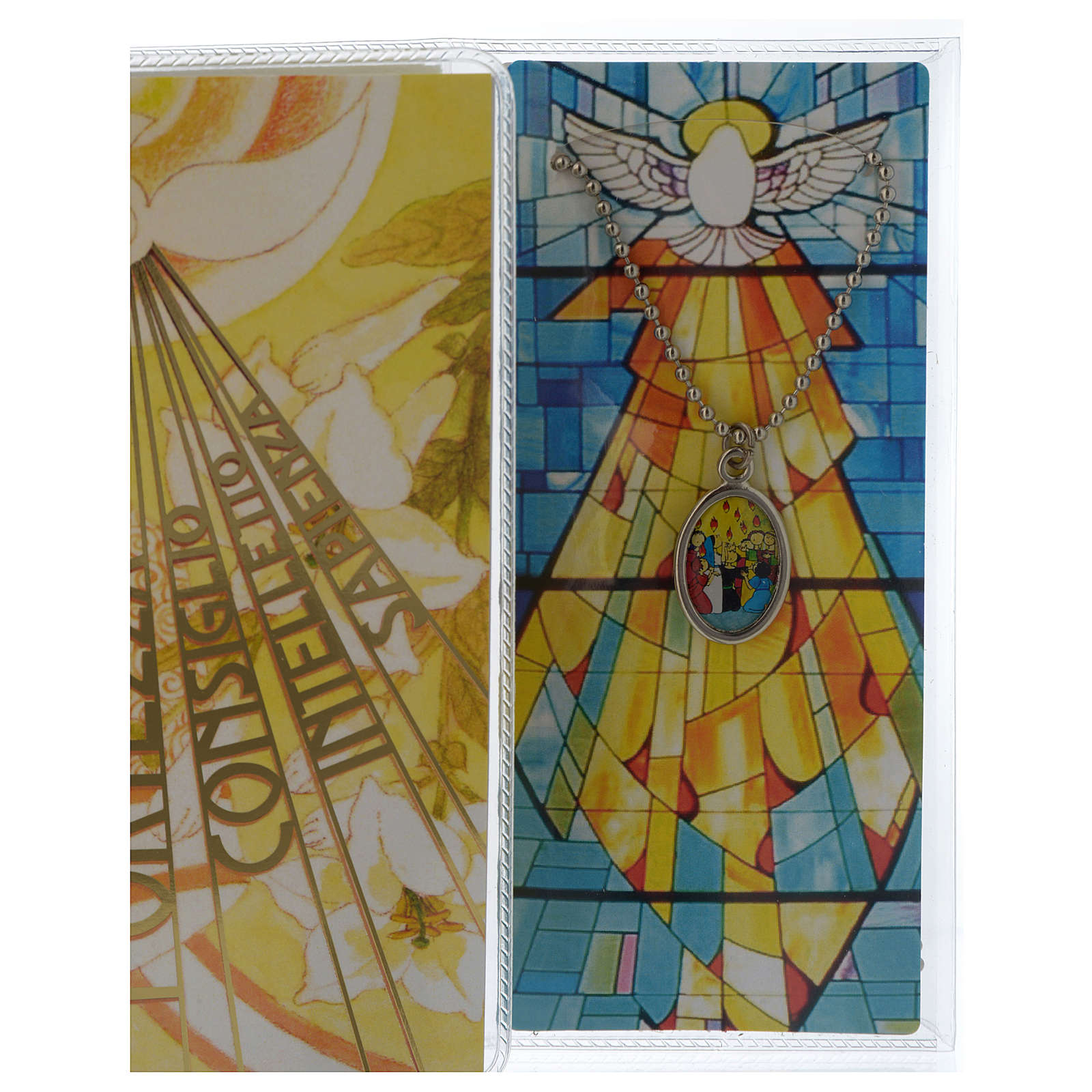 Confirmation memory booklet in Italian with pendant 3