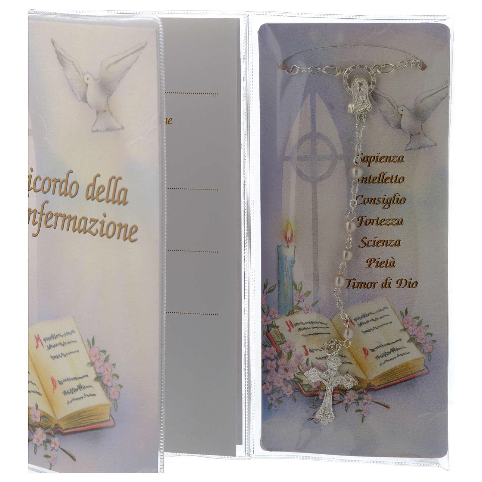 Libro Recuerdo Confirmación Rosario - italiano 3